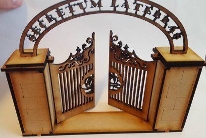 Iron gate - open