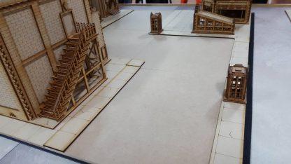 Footpath setup example 4