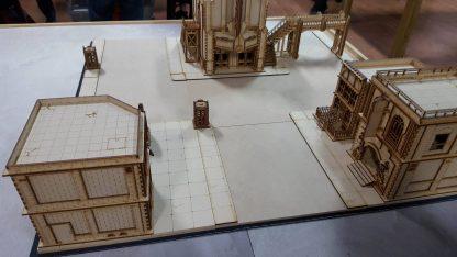 Footpath setup example 1